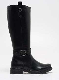 F By Fabrika Kadın Siyah Çizme AGORA